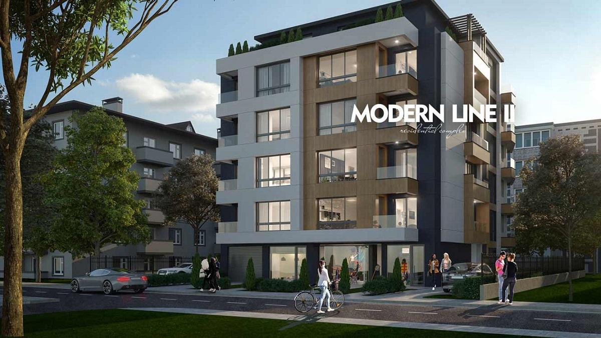 MODERN LINE II - жилищна кооперация, квартал Манастирски Ливади